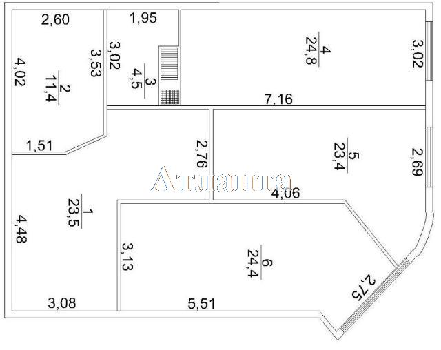 Продается 3-комнатная квартира на ул. Макаренко — 80 000 у.е. (фото №10)