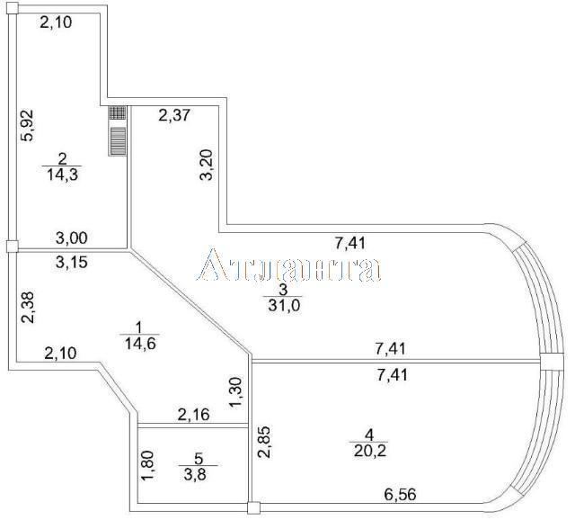 Продается 2-комнатная квартира на ул. Макаренко — 60 000 у.е. (фото №5)