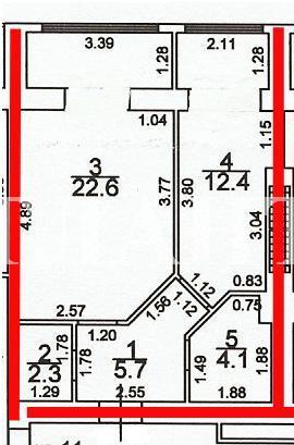 Продается 1-комнатная квартира на ул. Грушевского Михаила (Братьев Ачкановых) — 27 500 у.е. (фото №3)