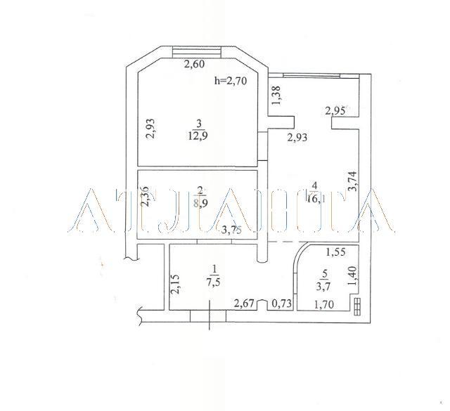 Продается 2-комнатная квартира на ул. Старицкого — 43 000 у.е. (фото №17)