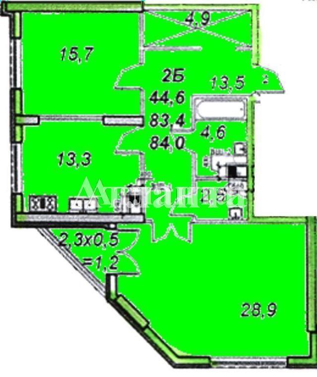 Продается 2-комнатная квартира на ул. Французский Бул. (Пролетарский Бул.) — 105 000 у.е.