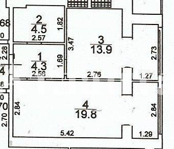 Продается 1-комнатная Квартира на ул. Грушевского Михаила (Братьев Ачкановых) — 26 000 у.е.