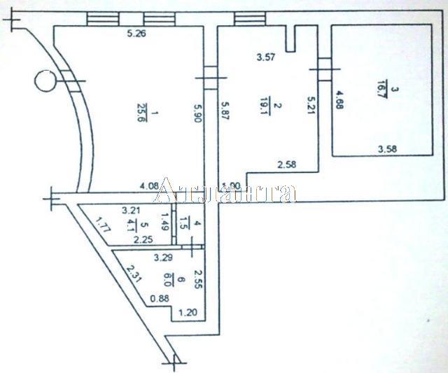 Продается 2-комнатная квартира на ул. Французский Бул. (Пролетарский Бул.) — 77 000 у.е. (фото №11)