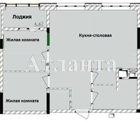 Продается 2-комнатная квартира на ул. Жм Дружный — 50 000 у.е. (фото №9)