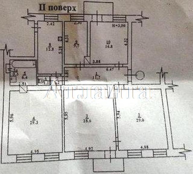 Продается 6-комнатная квартира на ул. Коблевская (Подбельского) — 115 000 у.е. (фото №11)