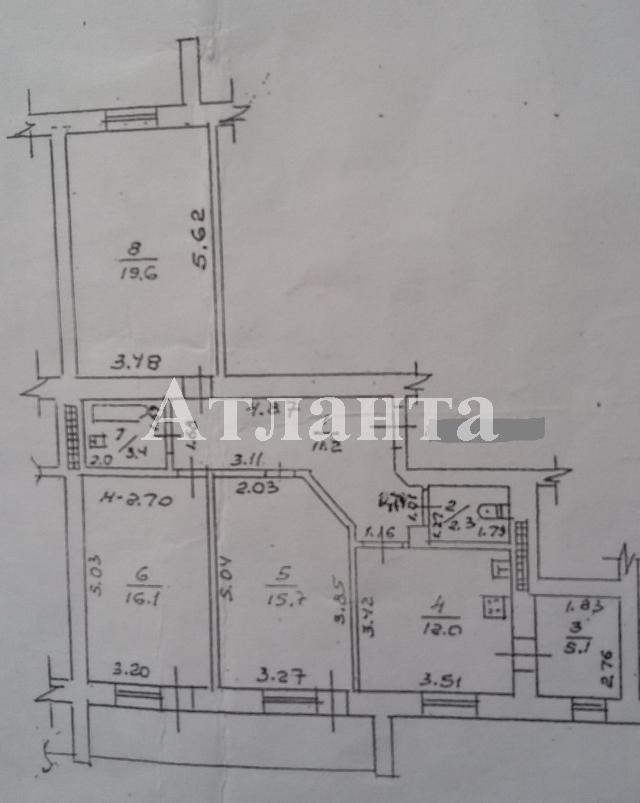 Продается 3-комнатная квартира на ул. Парковая — 85 000 у.е. (фото №15)