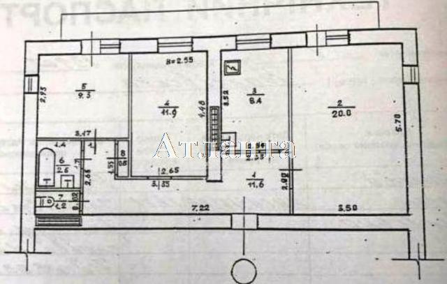 Продается 3-комнатная квартира на ул. Балковская (Фрунзе) — 55 000 у.е. (фото №7)