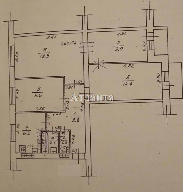 Продается 4-комнатная квартира на ул. Королева Ак. — 62 000 у.е. (фото №7)