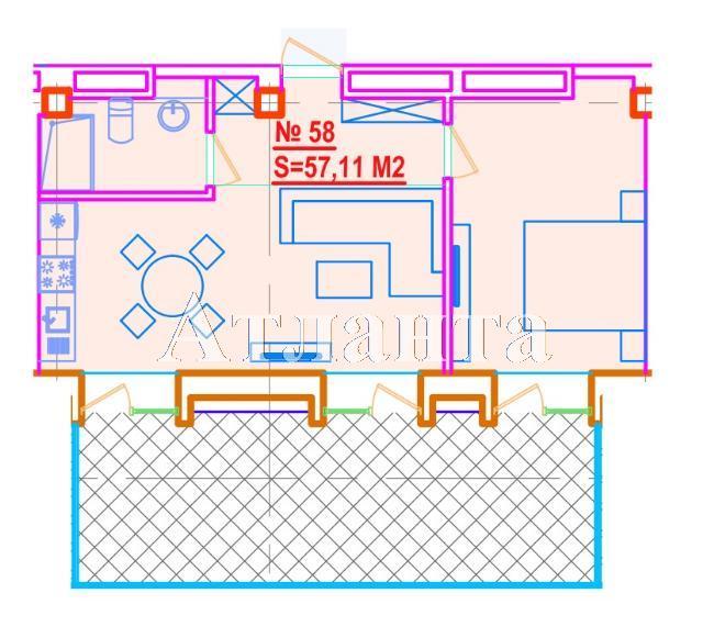Продается 1-комнатная квартира на ул. Азарова Вице Адм. — 125 640 у.е.