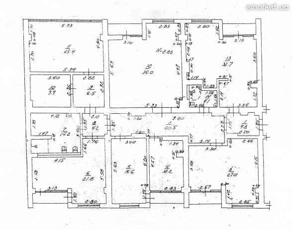Продается 5-комнатная квартира на ул. Французский Бул. (Пролетарский Бул.) — 595 000 у.е. (фото №8)