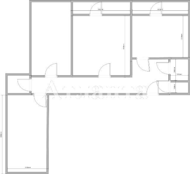 Продается 3-комнатная квартира на ул. Скидановский Сп. (Коммунальный Сп.) — 65 000 у.е. (фото №4)