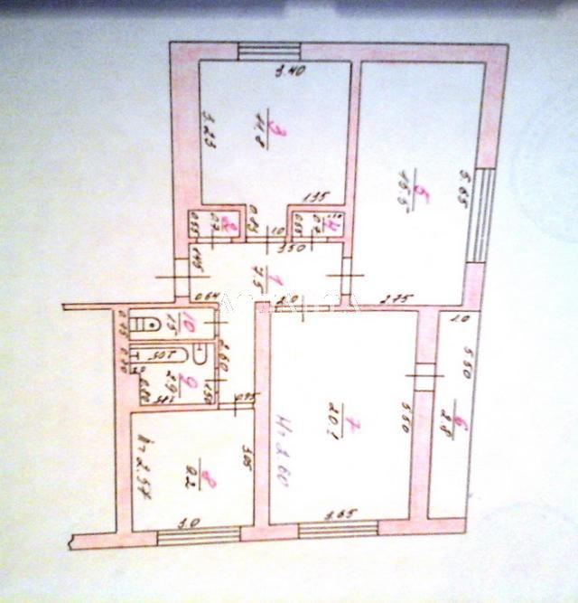 Продается 3-комнатная квартира на ул. Молодежная — 44 000 у.е. (фото №9)