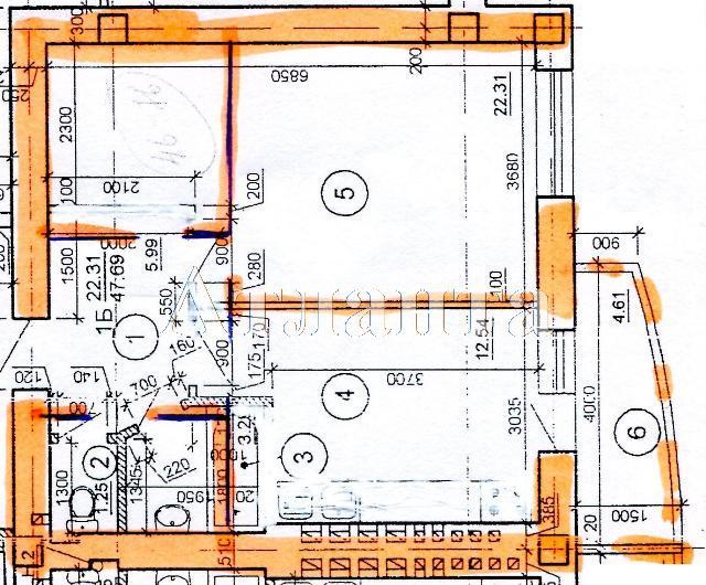 Продается 1-комнатная Квартира на ул. Цветаева Ген. — 32 000 у.е.