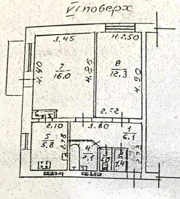 Продается 2-комнатная квартира на ул. Героев Cталинграда — 45 000 у.е. (фото №9)