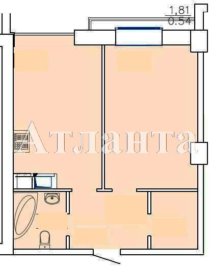 Продается 1-комнатная квартира на ул. Французский Бул. (Пролетарский Бул.) — 70 070 у.е.