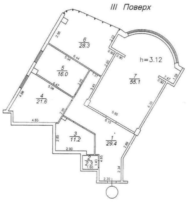 Продается 3-комнатная квартира на ул. Гагаринское Плато — 160 000 у.е. (фото №8)