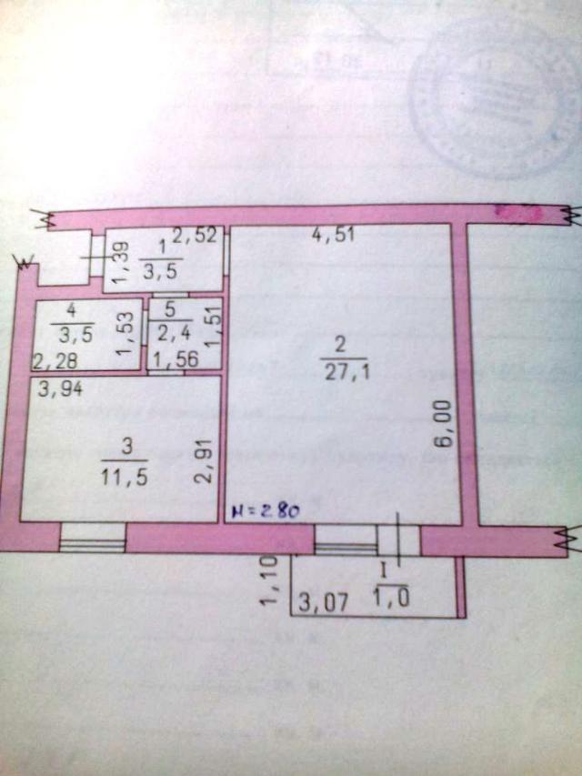 Продается 1-комнатная Квартира на ул. 40 Лет Победы — 28 000 у.е. (фото №2)