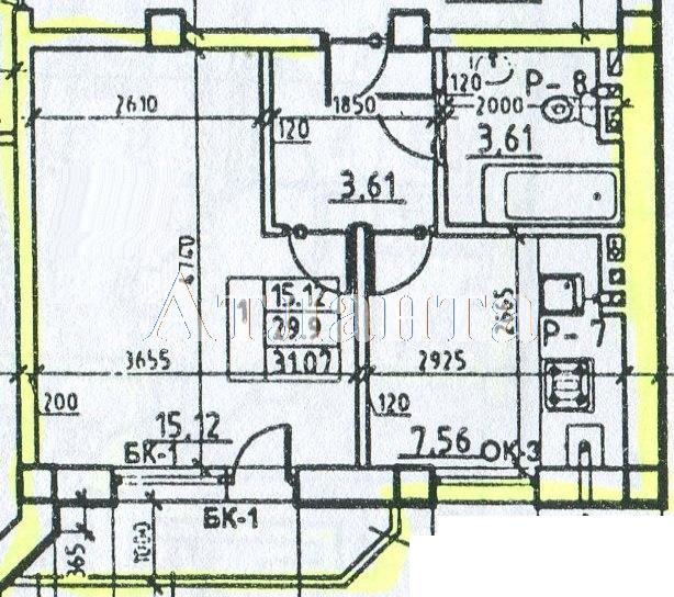 Продается 1-комнатная квартира на ул. Средняя (Осипенко) — 21 750 у.е.