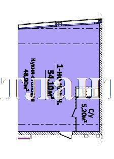 Продается 1-комнатная квартира на ул. Новобереговая — 70 330 у.е. (фото №3)