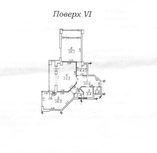 Продается 2-комнатная квартира на ул. Героев Cталинграда — 55 000 у.е. (фото №6)