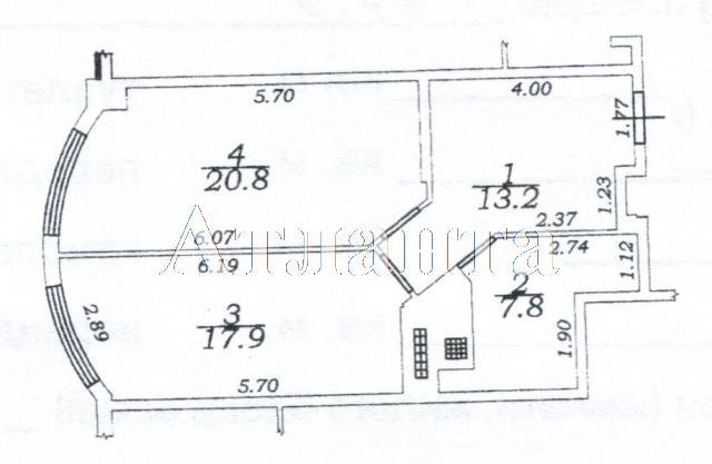 Продается 1-комнатная квартира на ул. Макаренко — 48 000 у.е. (фото №3)