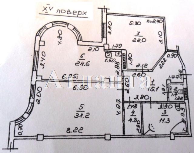 Продается 2-комнатная квартира на ул. Шевченко Пр. — 180 000 у.е. (фото №15)