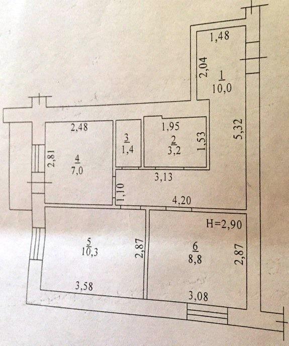 Продается 2-комнатная квартира на ул. Грушевского Михаила (Братьев Ачкановых) — 40 000 у.е. (фото №13)
