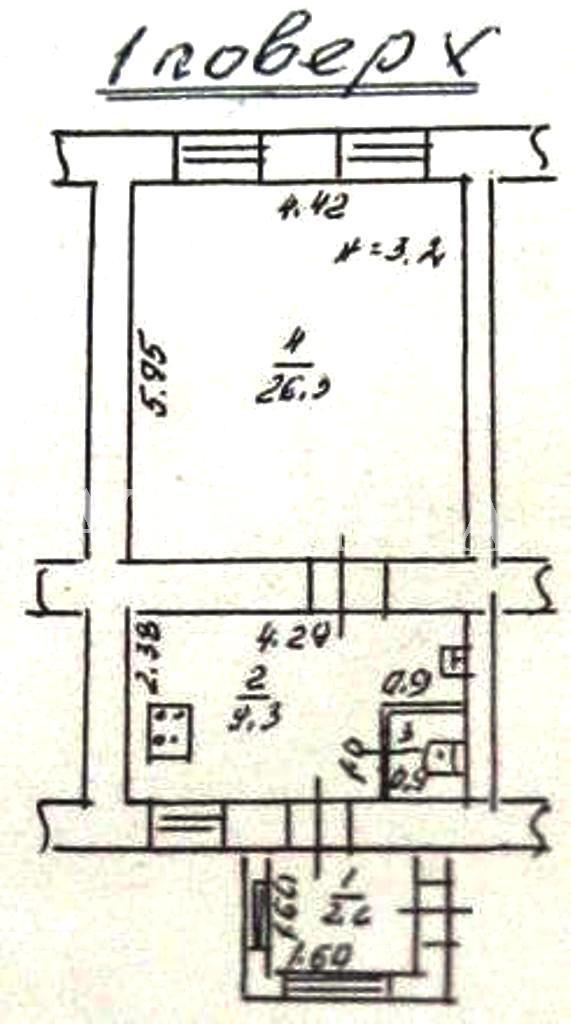 Продается 1-комнатная квартира на ул. Пастера — 35 000 у.е. (фото №2)