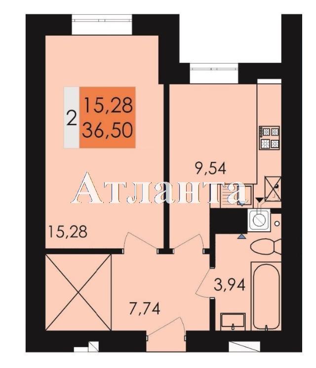Продается 1-комнатная квартира на ул. Чехова — 27 160 у.е. (фото №4)