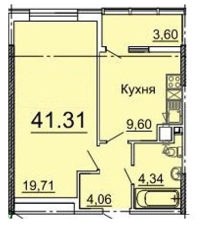 Продается 1-комнатная Квартира на ул. Фонтанская Дор. (Перекопской Дивизии) — 36 390 у.е. (фото №5)