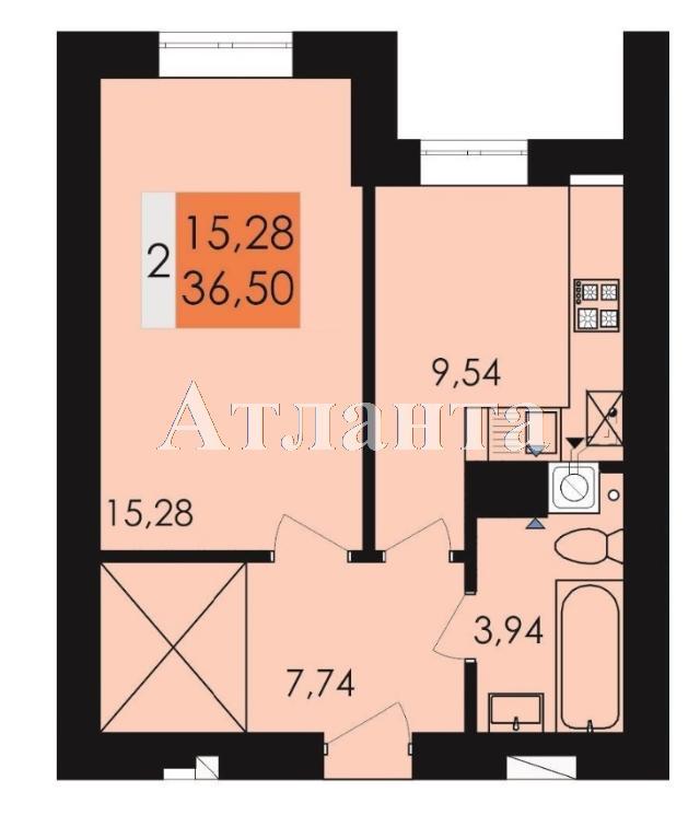 Продается 1-комнатная квартира на ул. Заболотного Ак. — 19 050 у.е.