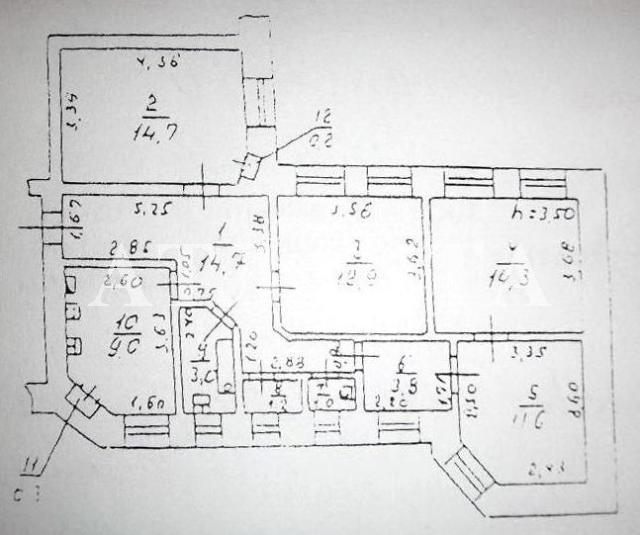 Продается 4-комнатная квартира на ул. Успенская (Чичерина) — 72 000 у.е. (фото №11)