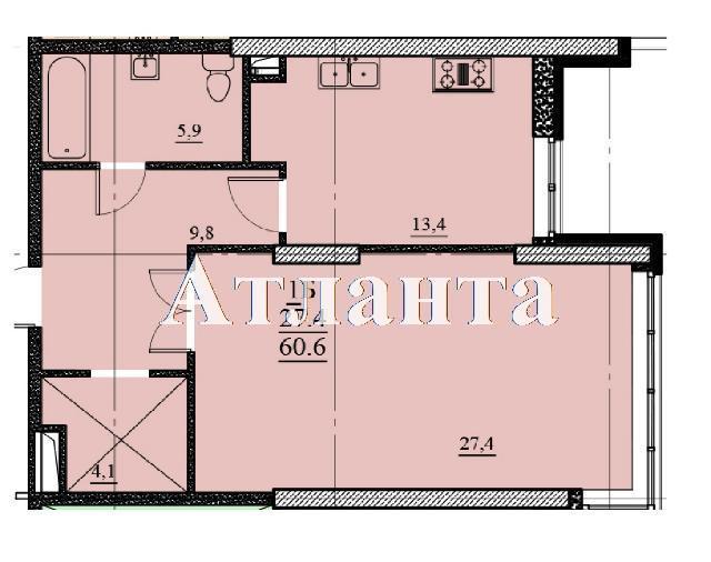 Продается 2-комнатная квартира на ул. Французский Бул. (Пролетарский Бул.) — 66 660 у.е. (фото №5)