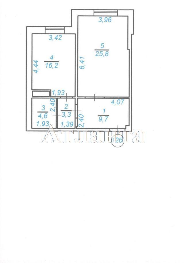 Продается 1-комнатная Квартира на ул. Среднефонтанская — 41 610 у.е.