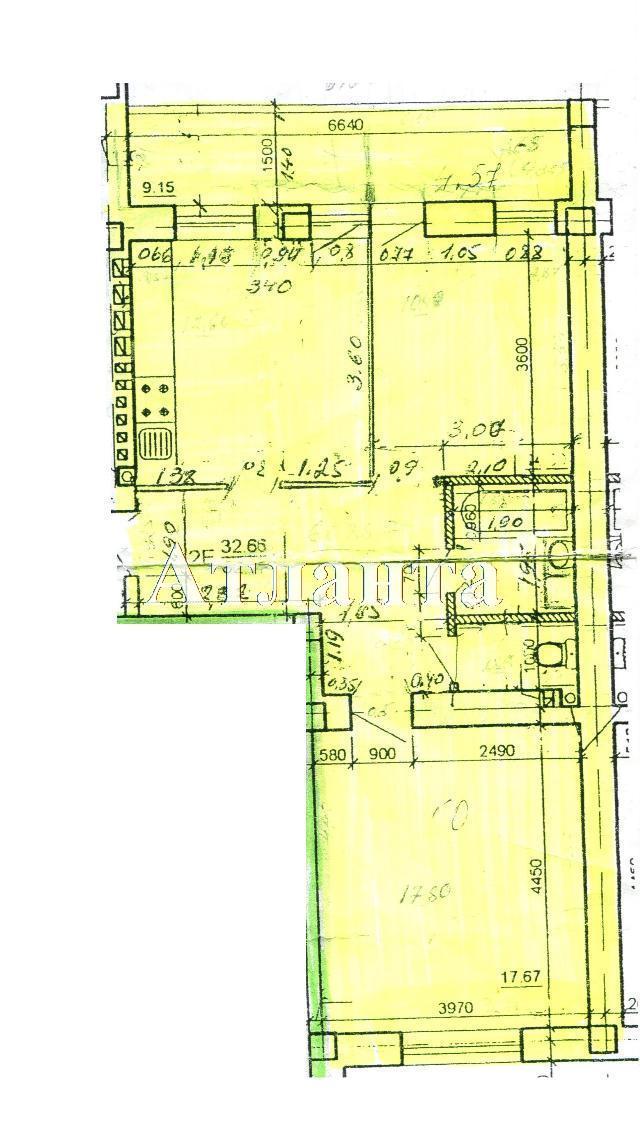 Продается 2-комнатная квартира на ул. Цветаева Ген. — 56 000 у.е.