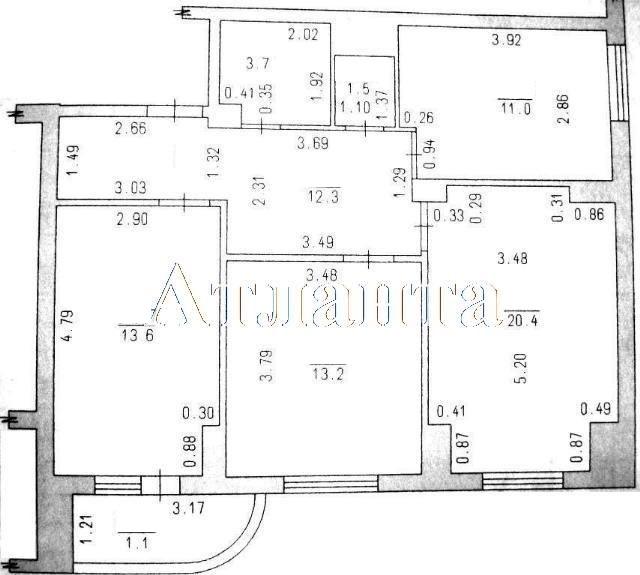 Продается 3-комнатная квартира на ул. Радужный М-Н — 87 000 у.е. (фото №10)
