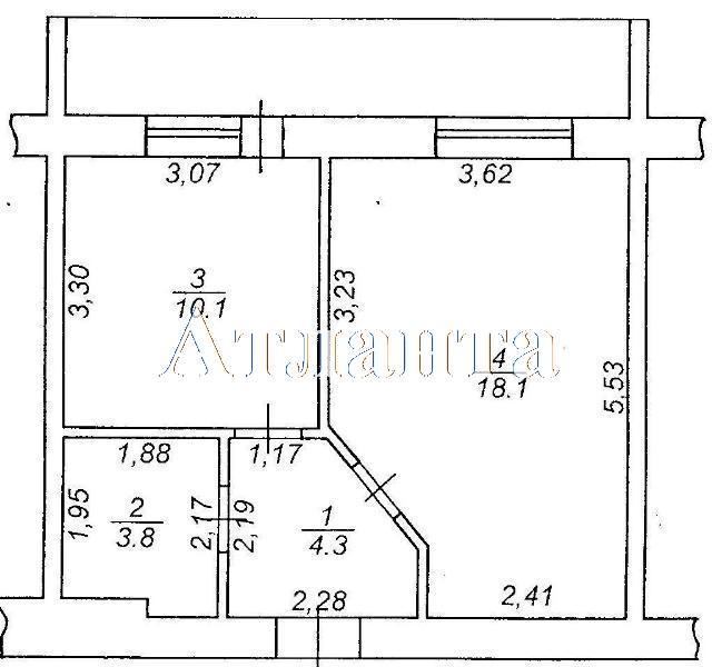 Продается 1-комнатная Квартира на ул. Коралловая — 36 900 у.е. (фото №3)
