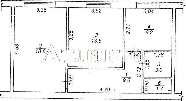 Продается 2-комнатная квартира на ул. Коралловая — 48 600 у.е. (фото №3)