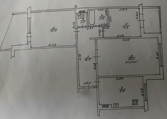 Продается 3-комнатная квартира — 48 000 у.е. (фото №12)