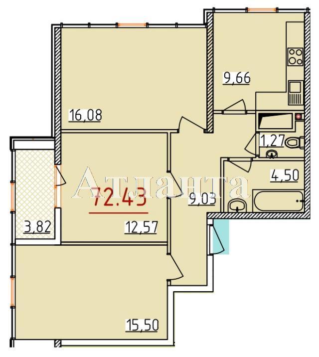 Продается 3-комнатная квартира на ул. Бассейная — 42 200 у.е. (фото №3)