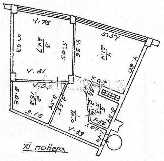 Продается 2-комнатная квартира на ул. Литературная — 150 000 у.е. (фото №3)