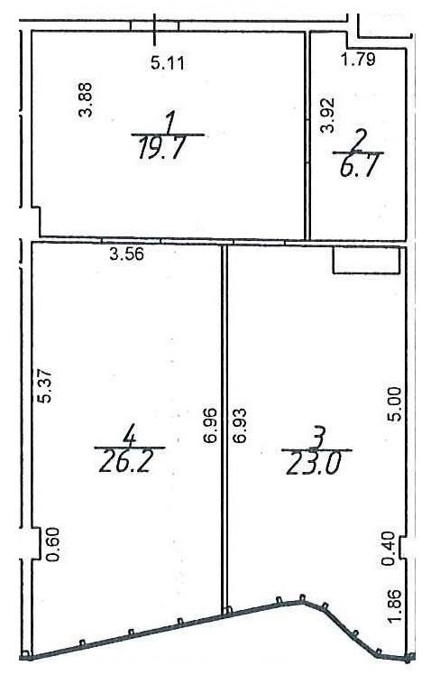 Продается 2-комнатная квартира на ул. Гагаринское Плато — 81 270 у.е. (фото №4)