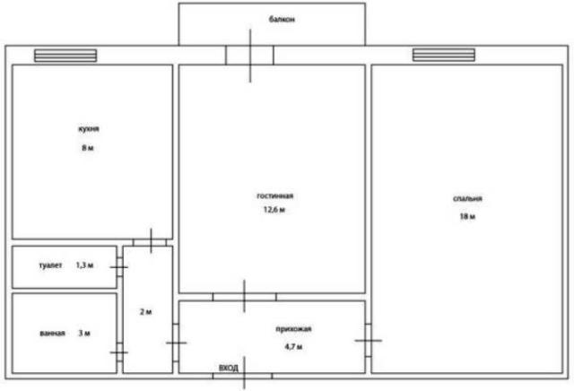 Продается 2-комнатная квартира на ул. Преображенская (Советской Армии) — 72 000 у.е. (фото №8)