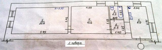 Продается 2-комнатная квартира на ул. Хмельницкого Богдана — 35 000 у.е. (фото №11)