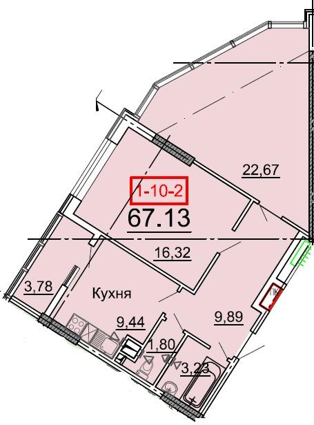 Продается 2-комнатная квартира на ул. Фонтанская Дор. (Перекопской Дивизии) — 69 700 у.е. (фото №5)