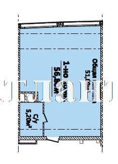 Продается 1-комнатная квартира на ул. Новобереговая — 56 800 у.е. (фото №4)