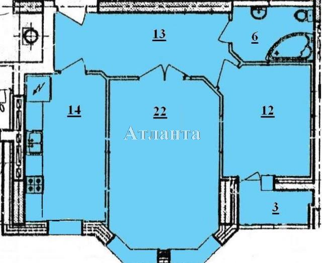 Продается 2-комнатная квартира на ул. Говорова Марш. — 85 000 у.е. (фото №2)
