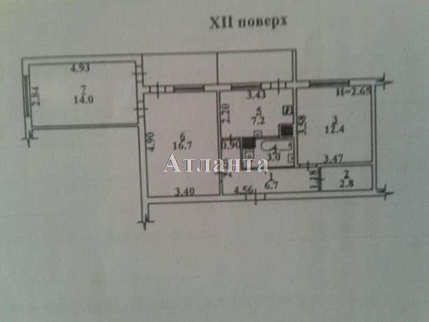 Продается 3-комнатная квартира на ул. Бугаевская (Инструментальная) — 58 000 у.е. (фото №7)