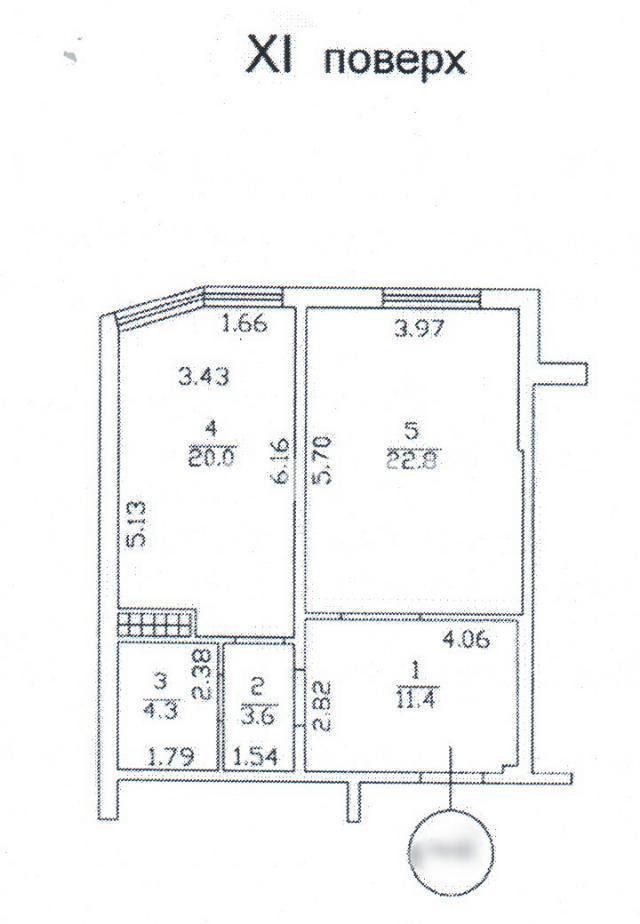 Продается 1-комнатная квартира на ул. Среднефонтанская — 45 300 у.е.