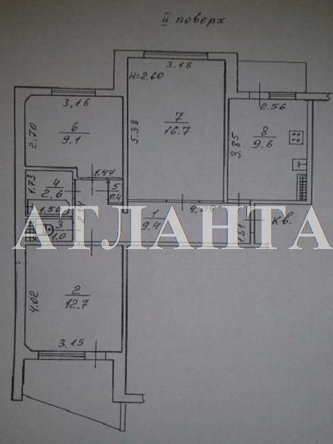 Продается 3-комнатная квартира на ул. Ильфа И Петрова — 43 000 у.е. (фото №10)